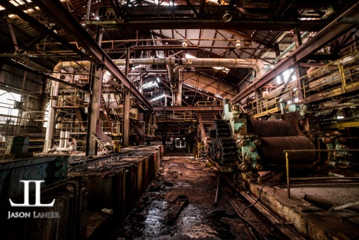 Abandoned Cinclare Sugar Mill Baton Rouge-2