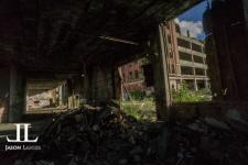 Abandoned Packard Motor Plant Detroit-13