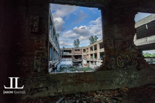 Abandoned Packard Motor Plant Detroit-23