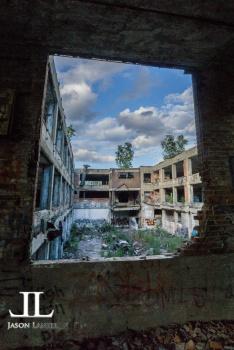 Abandoned Packard Motor Plant Detroit-24