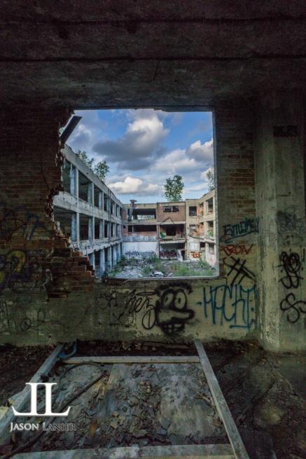 Abandoned Packard Motor Plant Detroit-25