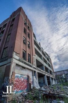 Abandoned Packard Motor Plant Detroit-34