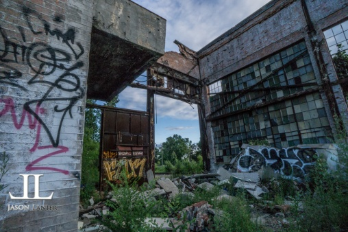 Abandoned Packard Motor Plant Detroit-37