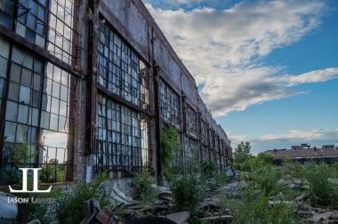 Abandoned Packard Motor Plant Detroit-43