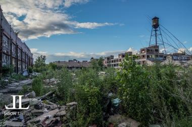 Abandoned Packard Motor Plant Detroit-44