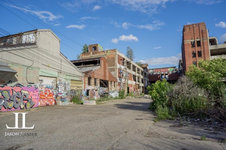 Abandoned Packard Motor Plant Detroit