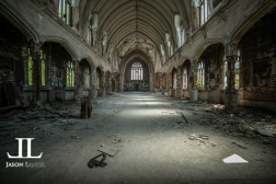 Abandoned Saint Agnes Cathedral Detroit-11