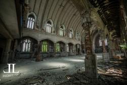 Abandoned Saint Agnes Cathedral Detroit-13
