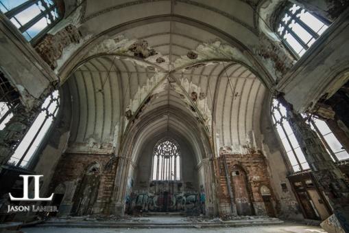 Abandoned Saint Agnes Cathedral Detroit-15
