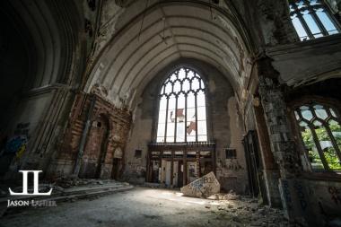 Abandoned Saint Agnes Cathedral Detroit-16