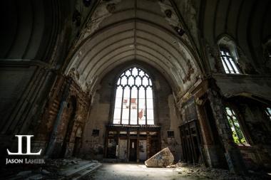 Abandoned Saint Agnes Cathedral Detroit-17