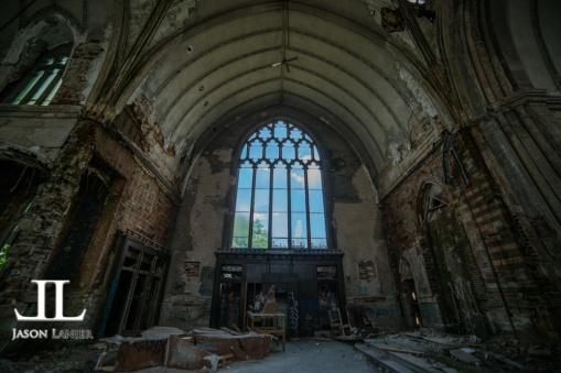 Abandoned Saint Agnes Cathedral Detroit-18