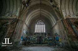 Abandoned Saint Agnes Cathedral Detroit-19