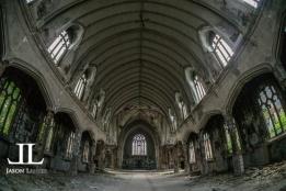 Abandoned Saint Agnes Cathedral Detroit-2