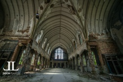 Abandoned Saint Agnes Cathedral Detroit-20