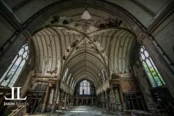 Abandoned Saint Agnes Cathedral Detroit-21