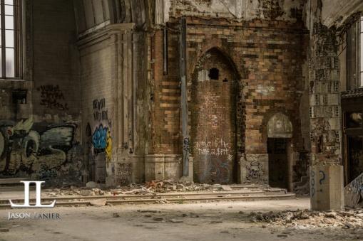 Abandoned Saint Agnes Cathedral Detroit-29