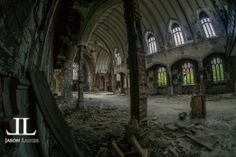 Abandoned Saint Agnes Cathedral Detroit-3