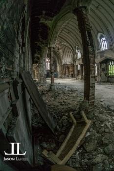 Abandoned Saint Agnes Cathedral Detroit-4
