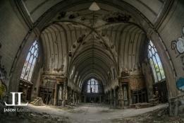 Abandoned Saint Agnes Cathedral Detroit-5