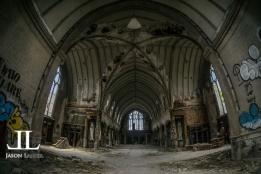 Abandoned Saint Agnes Cathedral Detroit-6