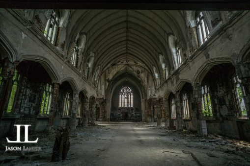Abandoned Saint Agnes Cathedral Detroit-7