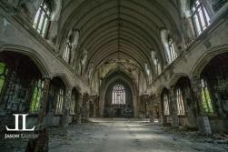 Abandoned Saint Agnes Cathedral Detroit-8