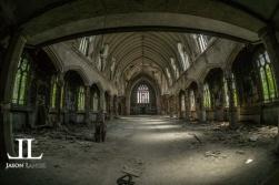 Abandoned Saint Agnes Cathedral Detroit-9