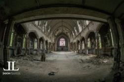 Abandoned Saint Agnes Cathedral Detroit
