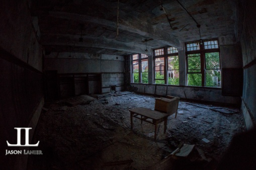 Abandoned Saint Agnes School Detroit-2