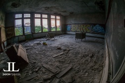 Abandoned Saint Agnes School Detroit-7