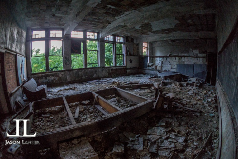 Abandoned Saint Agnes School Detroit