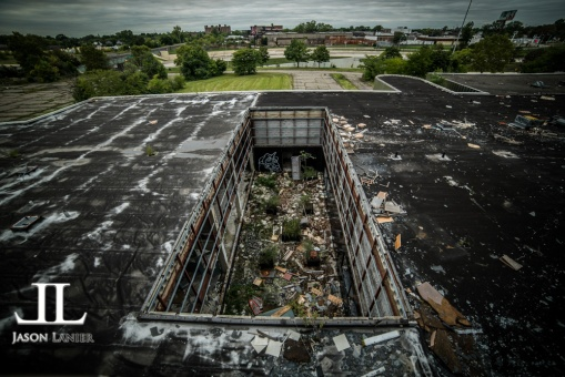 Abandoned Southwest Detroit Hospital-47