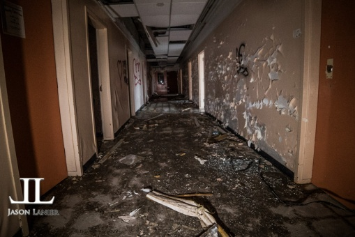 Abandoned Southwest Detroit Hospital-65