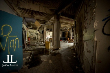 Abandoned Southwest Detroit Hospital